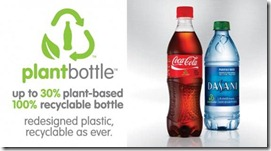 Biobased PET plant bottle