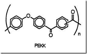 Poly (ether ketone ketone) or PEKK