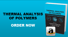 Thermal Analysis of Polymers Order